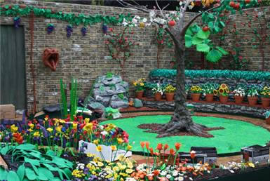 plasticine garden