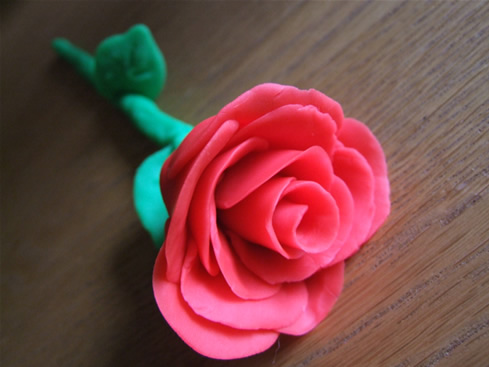 plasticine flower