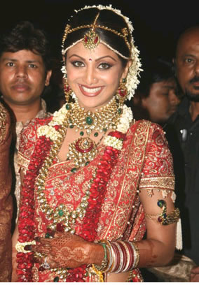 Celebrity Wedding Flowers – Shilpa Shetty