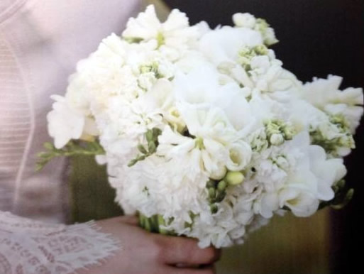 Bella's wedding bouquet