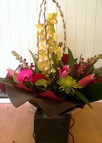 cymbidium-orchid-bouquet