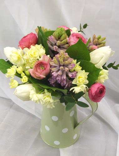 spring-flower-jug