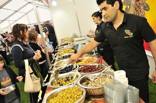 food-marquee-southport-flower-show-2011