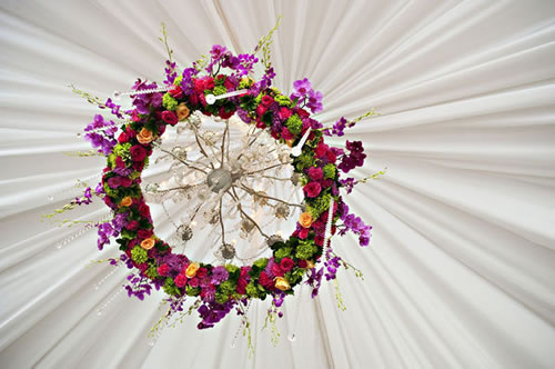 Floral chandeliers playing with flowers add aloadofball Image collections
